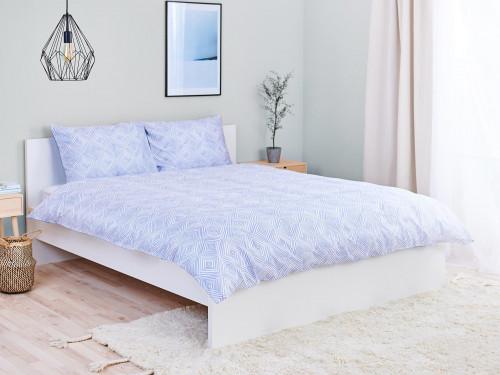 Комплект постельного белья Ethnic I Nord + 2 Анатомические подушки Aloe Vera