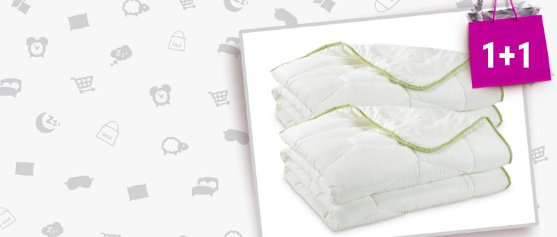2 одеяла Dormeo Aloe Vera по цене 1!