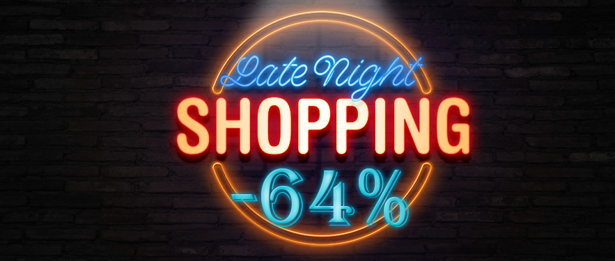 Ночной шоппинг!