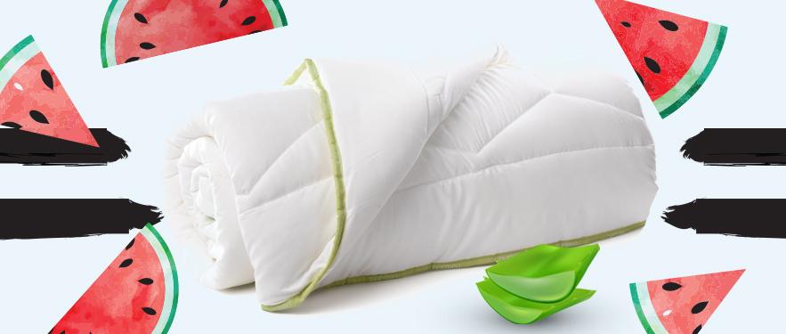 СКИДКА -50% на все одеяла Aloe Vera