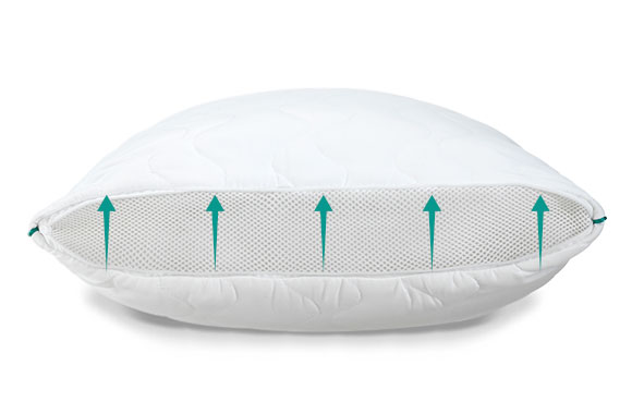 Классическая подушка Dormeo Onezip